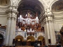 Die prächtige Orgel