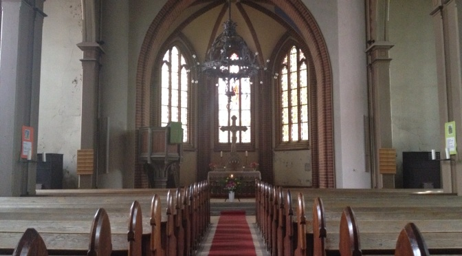 III – Dritter Strahl – St. Marienkirche, Usedom