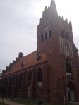 Die kleine Dorfkirche in Usedom