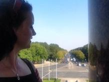 Blick zum Brandenburger Tor