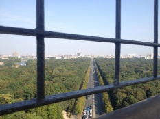 Blick zu Brandenburger Tor