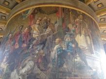 Mosaik auf der 1. Aussichtsplattform
