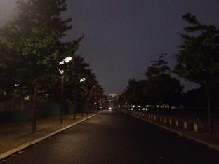 Straße am Bundeskanzleramt