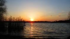 Sonnenuntergang über der Havel