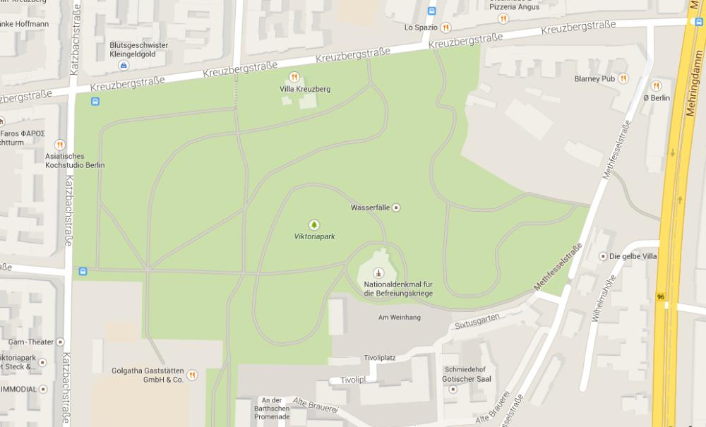 IX - Neunter Stern - Viktoria Park, Berlin (1/6)