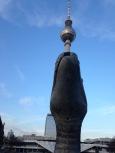 Neptunbrunnen-Schlange