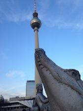 Neptunbrunnen-Krokodil