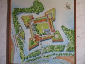 Plan der Zitadelle