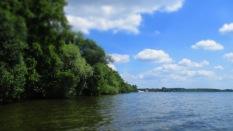 grünes Ufer