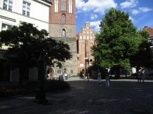 Vorplatz der Nikolaikirche