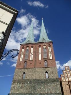 Die Türme der Nikolaikirche