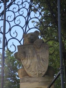 Der Berliner Bär mit dem Adlerwappen