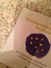 Dieses Kunstwerk hab ich von meiner süßen, kleinen Helferin gemalt bekommen :D