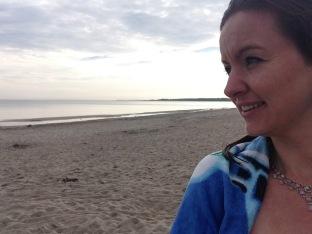 Ein morgendliches Bad in der Ostsee und mir geht's gut