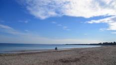 Und das Meer wird blau
