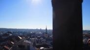 Und dann bin ich den Rathausturm hoch