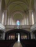 Der Blick vom Altar