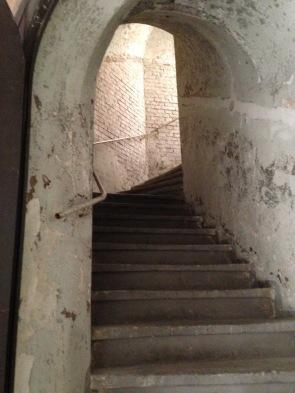 Die Treppe nach oben